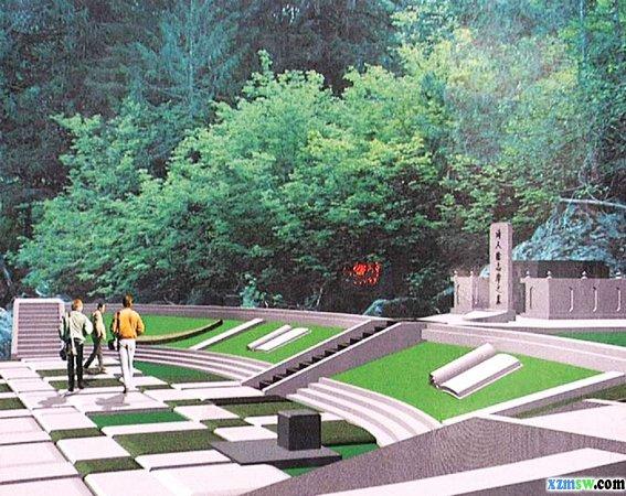 家族墓地设计图片展示